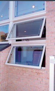 open awning windows