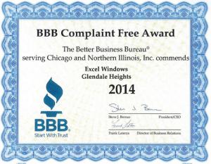 BBB Complaint Fee Award