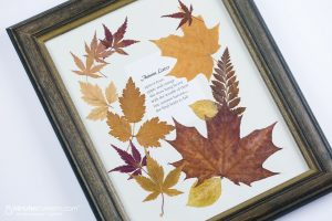decorate your home for fall on a dime leaves